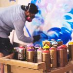 Painting Over Spray Paint With Acrylic